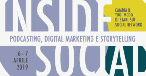 Inside Social - corso di digital marketing - imparare a produrre podcast con i migliori podcaster italiani