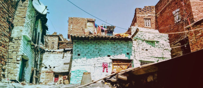 Houses Delhi Poor people