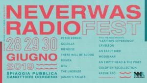 NeverWas Radio Fest 2019 Line Up completa