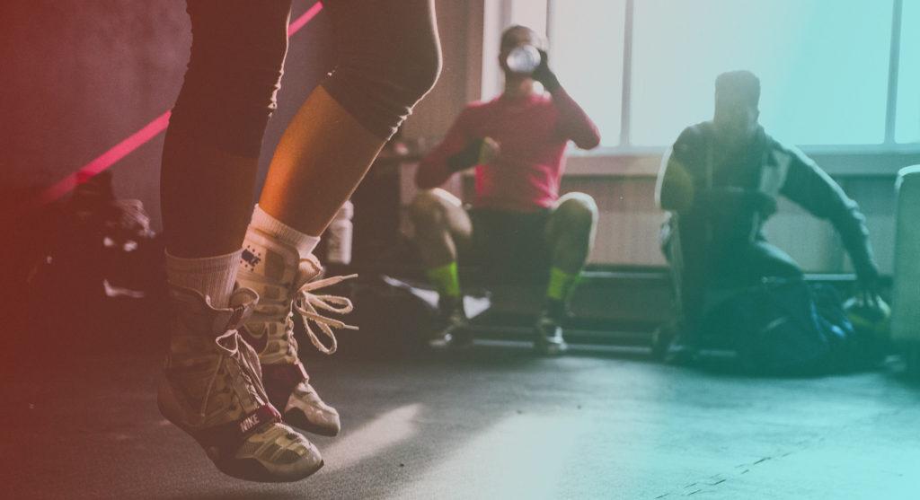 Iragazzi del Circolo Arci Gagarin di Busto Arsizio propongono un allenamento aperto di pugilato popolare al NeverWas Radio Fest 2018 il Festival di NeverWas Radio la web radio indipendente di Varese