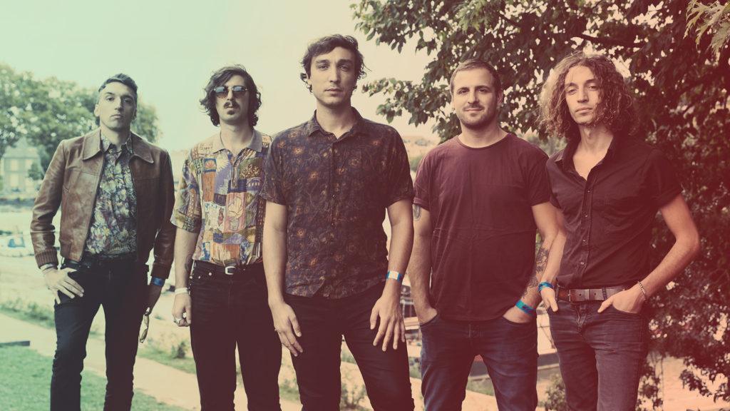 quintet psychedelic rock music