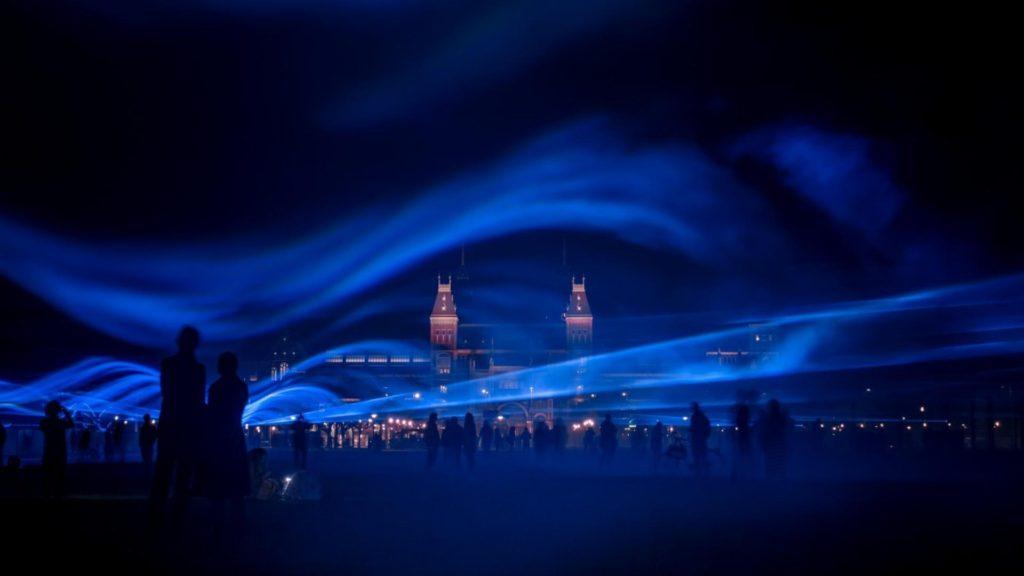 arte waterlicht 5 installazioni opere arte performance cambiamento climatico